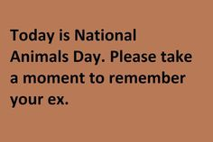 The National Animal Day
