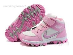 nike Baby Shoes kids dunk Sb high white pink