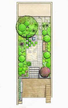 Masterplan by Acres Wild square landscape plan Landscape Sketch, House Landscape, Landscape Drawings, Garden Design Plans, Landscape Design Plans, Small Garden Plans, Plan Sketch, Garden Architecture, Diy Garden Projects