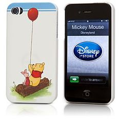 Disney Winnie the Pooh iPhone 4/4S Case | Disney StoreWinnie the Pooh iPhone 4/4S Case - Your signal will always be sweeter when using Pooh's illustrated iPhone case. No matter how far you go beyond the Hundred Acre Wood, Pooh and Piglet will always be there to protect your precious electronic equipment.