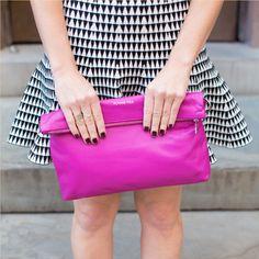 Adele Vibrant Leather Handbag on BourbonandBoots.com