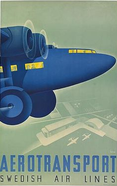 Anders Beckman 1935, Aerotransport Swedish Air Lines.