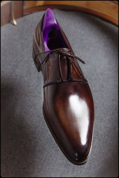 http://chicerman.com  amator-blogosphere:  Berluti Bespoke Shoes  Patrice Rock - Anthony Delos - Jean-Michel Casalonga  crédit photo :  Andy Julia pour Parisian Gentleman  #menshoes