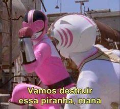 Ideas For Memes Brasileiros Power Rangers Power Rangers Memes, Go Go Power Rangers, Memes Humor, Stupid Funny Memes, Hilarious, Thing 1, Relationship Memes, Meme Faces, Reaction Pictures