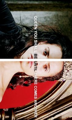 "Morgana + Guinevere: ""to cast you down and take all that you hold dear"" #merlin"