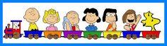 Peanuts Train Set 1/17