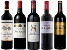 Cheatsheet to Bordeaux wines