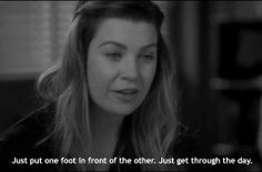 """Meredith Grey. From season 7, ep. 131: """"Almost Grown"""""""