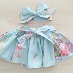 Sweet Julia Skirt & Head Wrap Set - PRE-ORDER