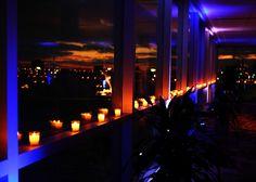 Downtown Detroit candle window decor - Image by Daphne Doerr