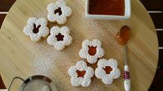Spring linzer cookies