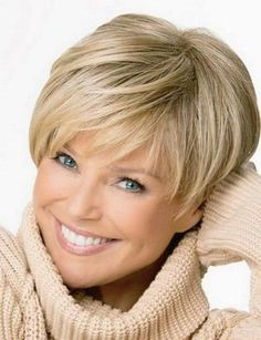 Best Short Hairstyle For Women (24) #WedgeHairstyles