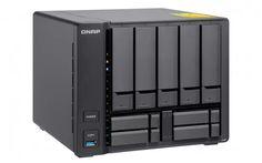 """A QNAP® Systems, Inc. a mai napon bemutatta a 10GbE kapcsolatra felkészített quad-core TS-932X költséghatékony NAS adattárolót, ami öt darab 3,5""""-os merevlemez és négy 2,5""""-os SSD fogadására képes."""
