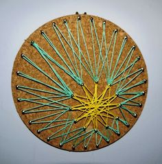 String Art on Cork! | Library Arts