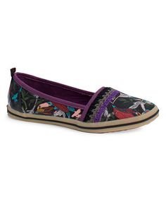 Take a look at this Black Peace Tempo Slip-On Shoe by The Sak on #zulily today!