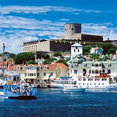 A Swedish summer isn't complete without a day of hiking and sunbathing on Marstrand. Swedish westcoast.
