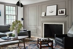 Architect Visit: A Renovated Farmhouse in Bedford with Scandinavian Influences: Remodelista