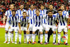 EQUIPOS DE FÚTBOL: REAL SOCIEDAD contra Sporting de Gijón 20/11/2016