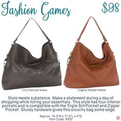 Fashion Games by Thirty-One. Fall/Winter 2016. Click to order. Join my VIP Facebook Page at https://www.facebook.com/groups/1603655576518592/