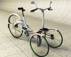 It's Elec-trike!    This electric assisted tricycle was designed to be a quick, reliable commuting alternative in the big city that will promotes a mentality of sustainability and eco-friendliness as well as a more active lifestyle.