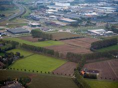 2015 Veghel de Kempkens - Het beoogde gebied waar de gemeente Veghel een nieuw bedrijventerrein onder de titel Foodpark wil vestigen.
