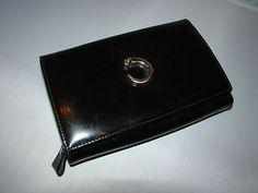 Vintage Pre Owned Authentic Cartier Paris Black Leather Panthere Clutch Wallet | eBay