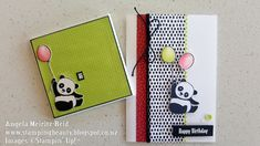 Stampin Up Party Pandas