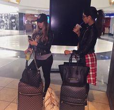 Outfit on Fleek... Bag on Fleek... Luggage on Flee...