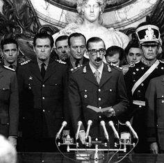 24 marzo 1976 - Inizio della Dittatura militare di Jorge Rafael Videla in Argentina.