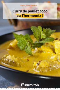#MiogoMaestro : curry de poulet coco.