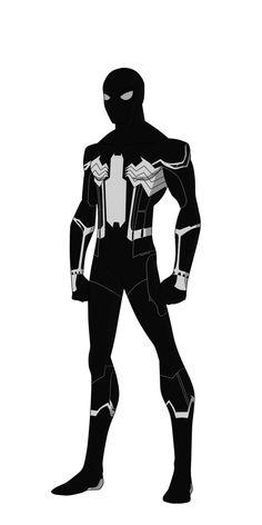 Spider-Man Civil War black suit by shorterazer on DeviantArt
