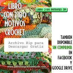 V Stitch Crochet, Crotchet Stitches, Crochet Motifs, Knit Crochet, Crochet Patterns, Crochet Gratis, Crochet Books, Crochet Designs, Crochet Bikini