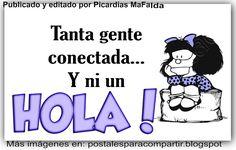 Mundo de Postales: HOLA...
