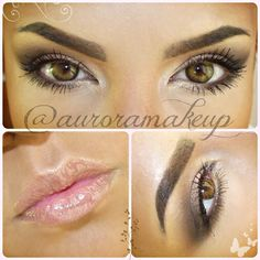 .@MaquillateconAurora GB | Today beautiful dolls a NATURAL EVERYDAY LOOK… no falshe lashes, no eyeliner,...