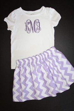 Ships in 2 Business Days GIRLS GLITTER monogrammed Shirt 6mo-14 on Etsy, $17.00