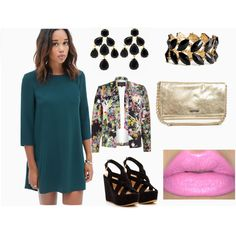 Callejoneada San Miguel by irasemater-veen on Polyvore featuring Forever 21, River Island, Kate Spade, H&M and 1d