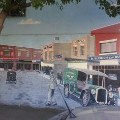 Eaglemont Village #mural Silverdale Road 2 of 3. #nofilter #northside #NoHe