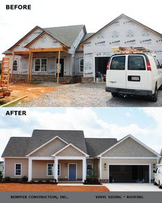 Rempfer Construction, Inc. - Siding, Roofing Before & After Shed, Outdoor Structures, Construction, Home, Building, Ad Home, Homes, Haus, Barns