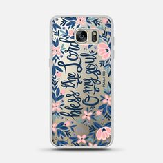 Samsung Galaxy S7 Edge Case Bless the Lord- O my Soul