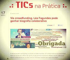 """Portal do Instituto Claro destaca no Blog """"Tics na Prática"""" a iniciativa da biografia colaborativa!"""