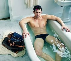 Michael Phelps - by Anne Leibovitz  Louis Vuitton campaign