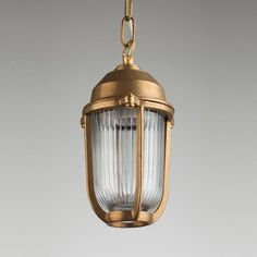 Boatyard Brass Pendant - Two Sizes Available - Lighting - Shop By Category - New In