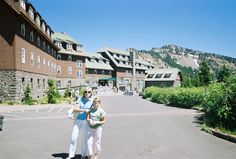 Oregon's historic Crater Lake Lodge overlooks one of the world's most beautiful lakes.