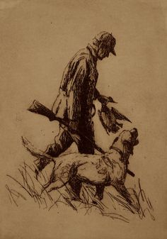Heading Home, etching by Sporting artist Brett J Smith