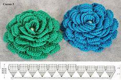 Verano cap niñas crochet (diagrama) -11