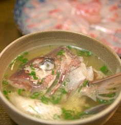 Madai+Ushiojiru+(Red+Sea+Bream+Fishbone+Soup)