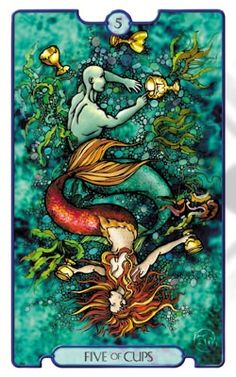 Revelations Tarot Five of Cups - Pesquisa do Google