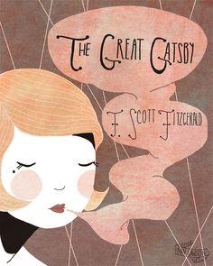 The Great Gatsby Nan Lawson   P O R T F O L I O