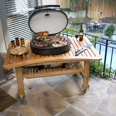 sweet grill table