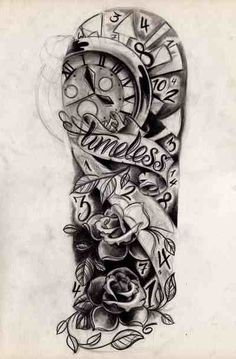 Half sleeve idea. I'm in love!